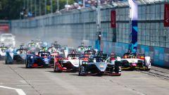 Formula E 2018-2019, la partenza dell'ePrix di Santiago della passata stagione