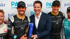 Formula E 2018, GP Parigi: e' Vergne - show con Teechetah - Immagine: 2