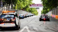 Formula E 2018, GP Parigi: e' Vergne - show con Teechetah - Immagine: 3