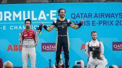 Formula E 2018, GP Parigi: e' Vergne - show con Teechetah - Immagine: 4