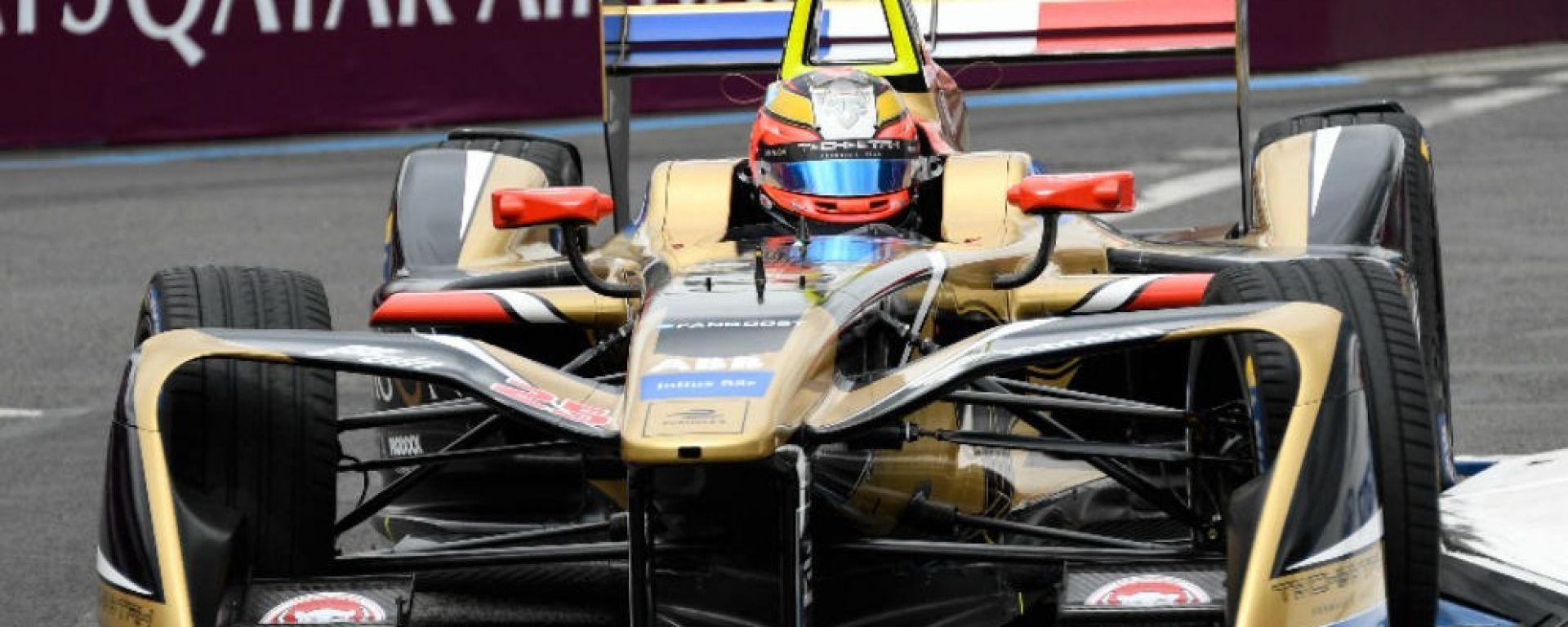 Formula E 2018, GP Parigi: e' Vergne - show con Teechetah