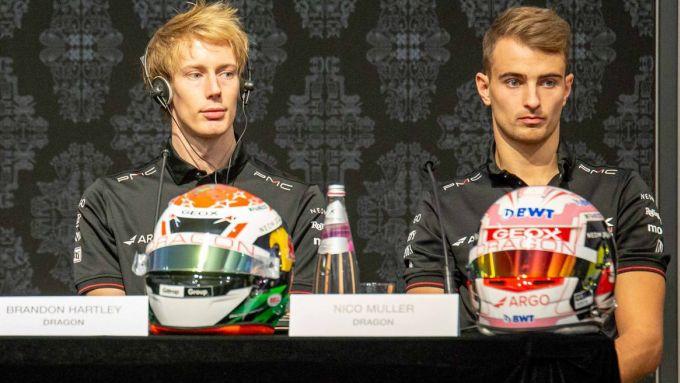 Formula E 2019-2020, Brendon Hartley e Nico Muller (Geox Dragon)