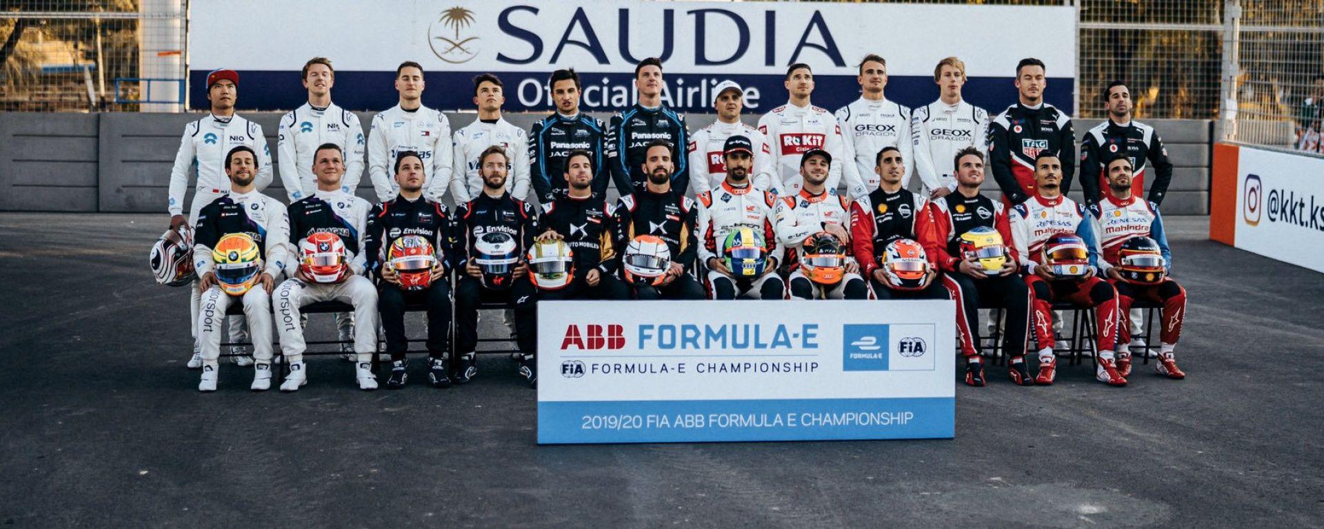 Formula E 2019-2020, ePrix Ad Diriyah: tutti i piloti partecipanti alla season 6