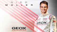 Formula E, Geox Dragon Racing ufficializza Nico Muller