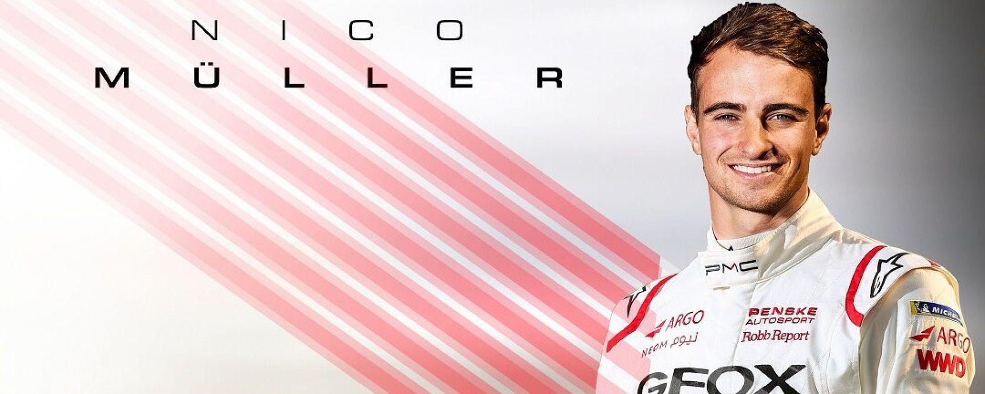 Formula E 2019-2020, Geox Dragon Racing annuncia l'ingaggio di Nico Muller