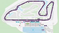 Formula E 2019-2020, il circuito Ricardo Tormo dove si tengono i test precampionato