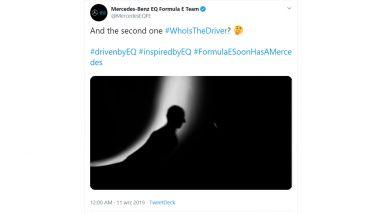 Formula E 2019-2020: il finto tweet che ha fatto credere nell'opzione Robert Kubica in Mercedes