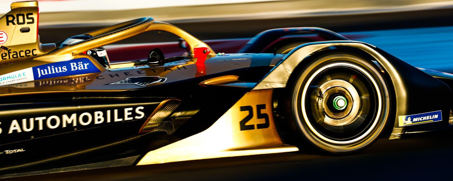 Formula E 2019-2020, James Rossiter al volante della DS Techeetah di Jean-Eric Vergne