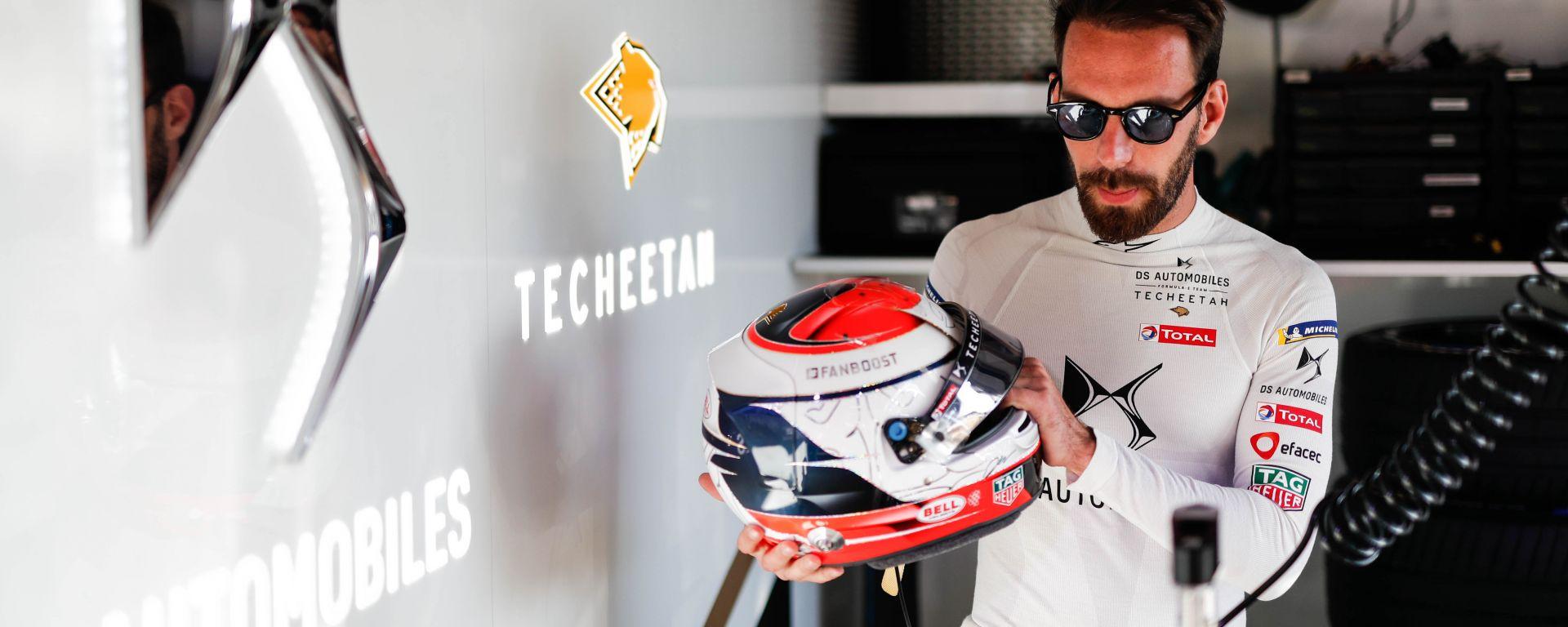 Formula E 2019-2020, Jean-Eric Vergne (DS Techeetah) all'ePrix di Ad Diriyah