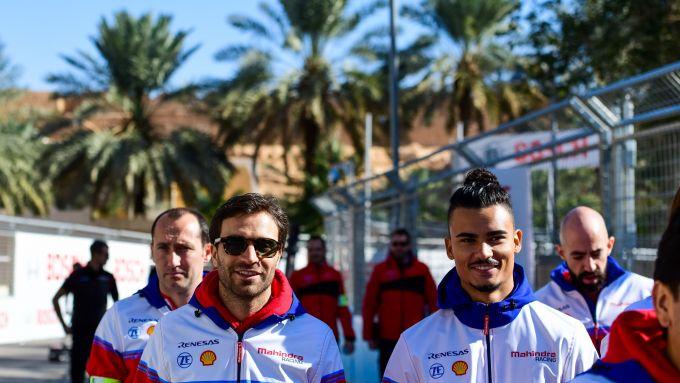 Formula E 2019-2020, Jerome D'Ambrosio e Pascal Wehrlein (Mahindra Racing)