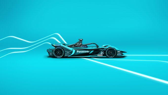 Formula E 2019-2020: la Jaguar I-Type 4 di James Calado e Mitch Evans