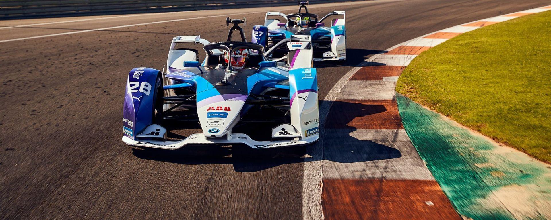 Formula E 2019-2020, la nuova iFE.20 del team Bmw i Andretti Motorsport