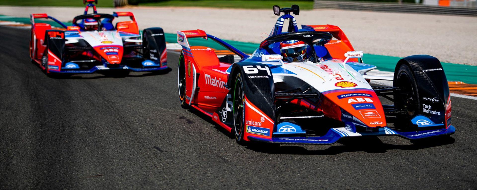 Formula E 2019-2020, la nuova Mahindra M6Electro di Jerome D'Ambrosio e Pascal Wehrlein