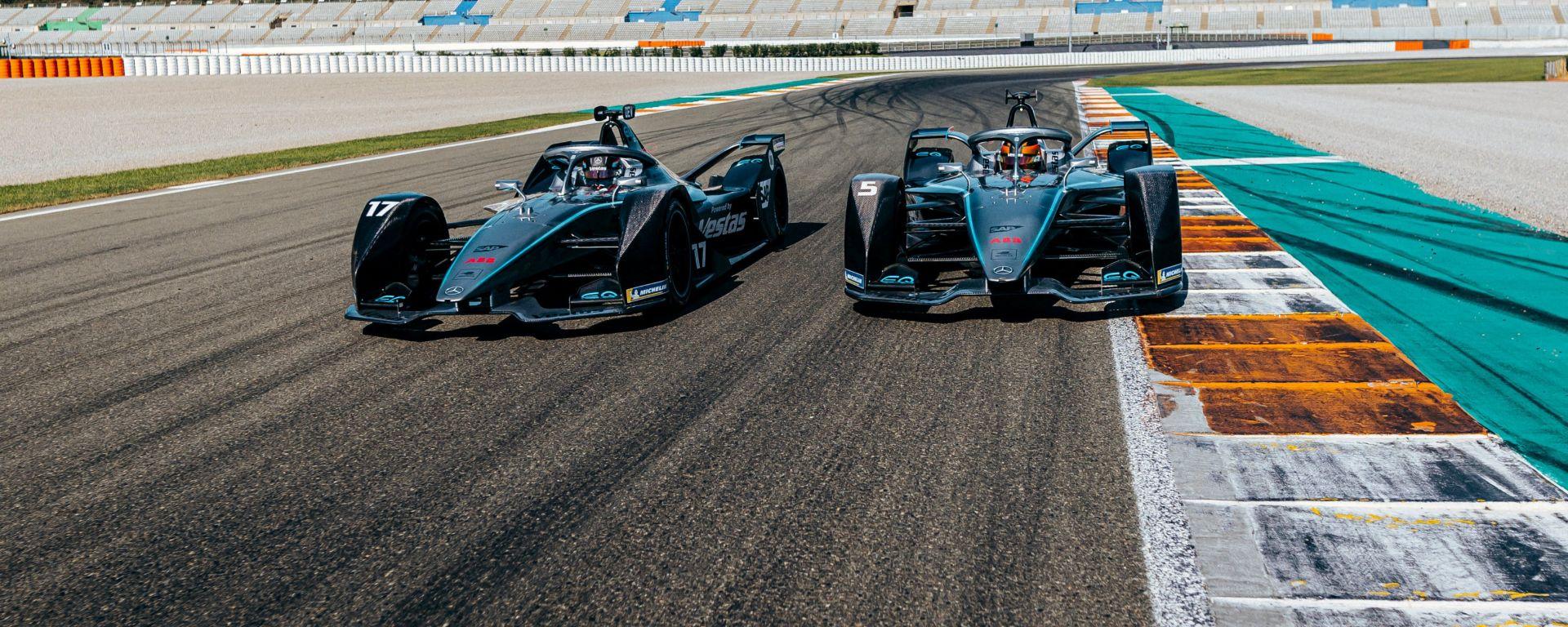 Formula E 2019-2020, la nuova Mercedes-Benz EQ Silver Arrow 01 di Vandoorne e De Vries