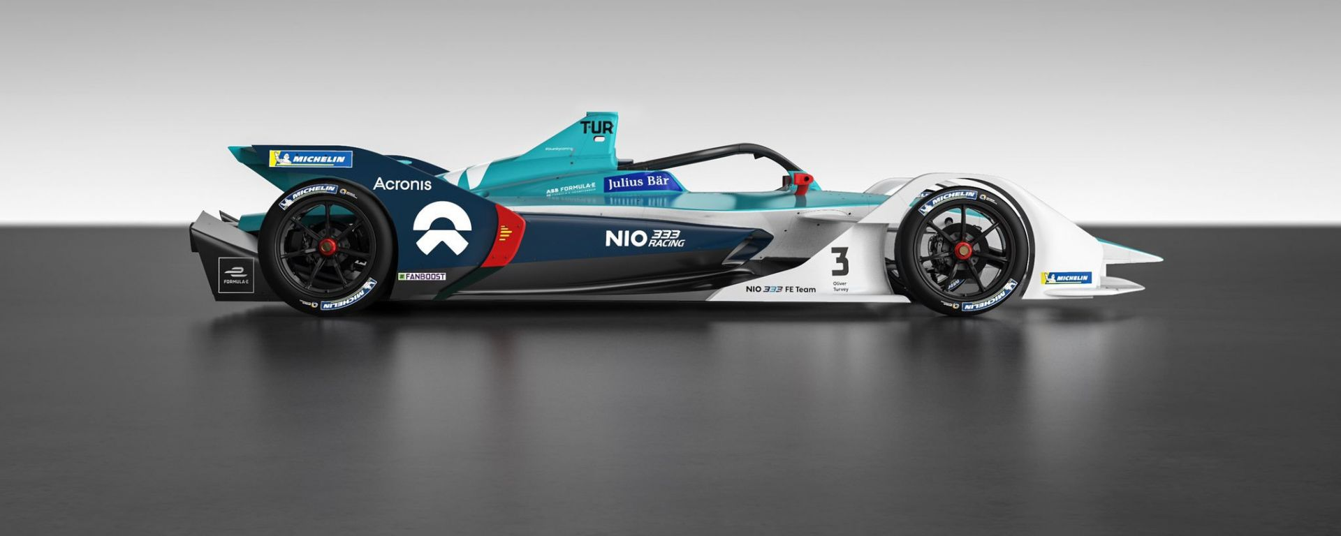 Formula E 2019-2020, la nuova NIO 333 Racing di Ma Qing Hua e Oliver Turvey