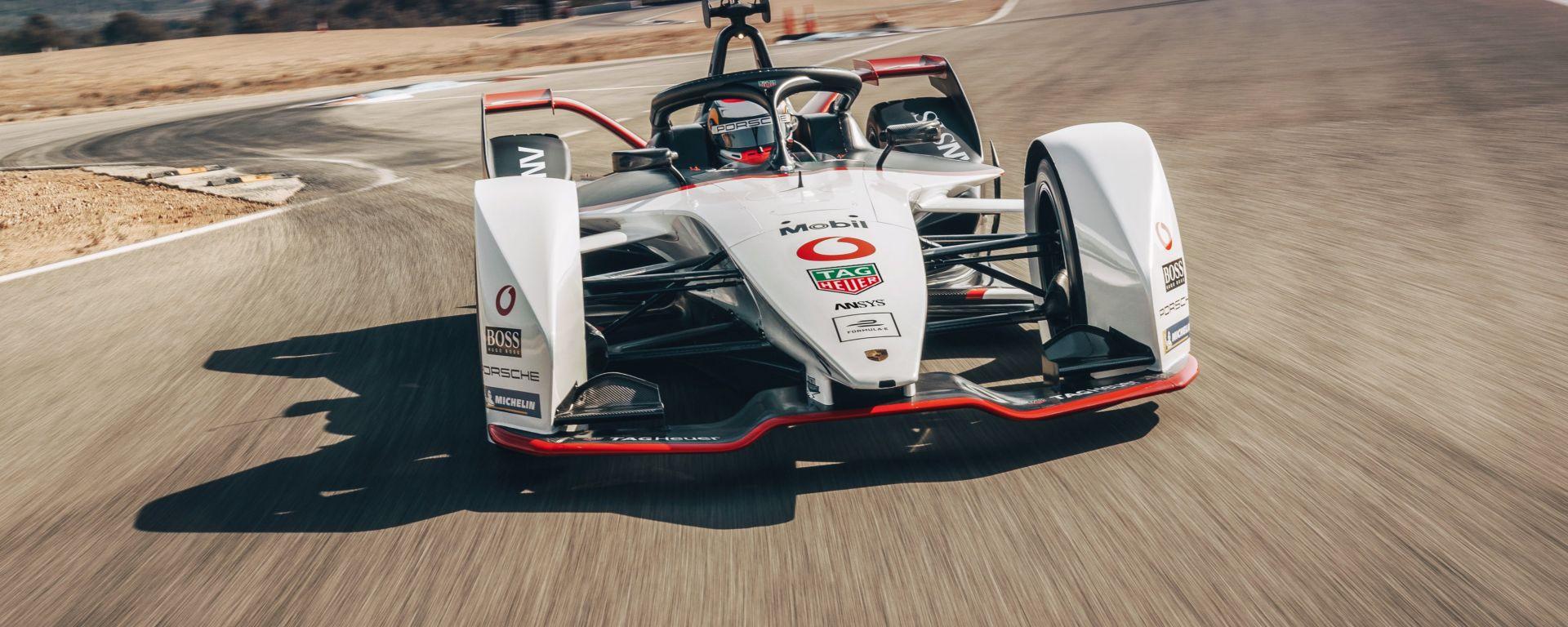 Formula E 2019-2020, la nuova Porsche 99X Electric di Neel Jani e André Lotterer