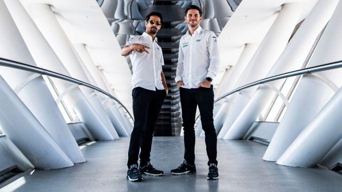 Formula E 2019-2020, Lucas Di Grassi e Daniel Abt (Audi Sport Abt Schaeffler)