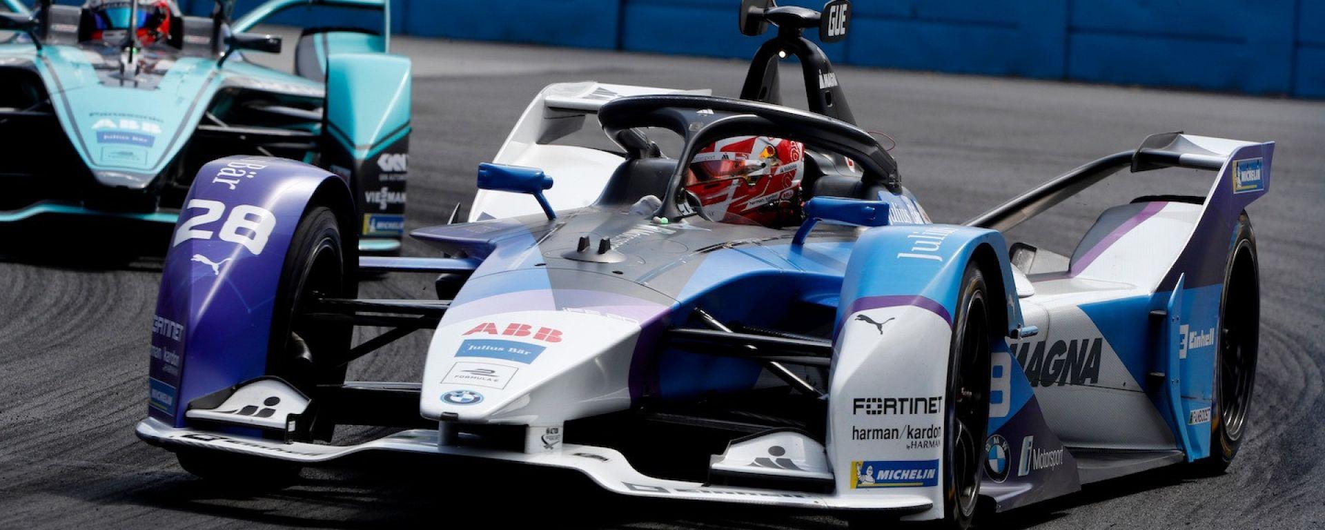 Formula E 2019-2020: Maximilian Guenther (BMW) impegnato nell'ePrix di Santiago