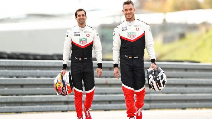 Formula E 2019-2020, Neel Jani e André Lotterer (Porsche)
