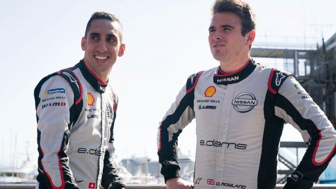 Formula E 2019-2020: Nissan e.Dams conferma Buemi e Rowland