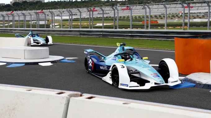 Formula E 2019-2020, Oliver Turvey e Ma Qinghua (Nio 333)