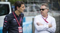 Formula E 2019-2020: Pedro De La Rosa (a sinistra) in divisa Ds Techeetah
