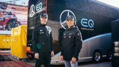 Formula E 2019-2020, Stoffel Vandoorne e Nyck De Vries (Mercedes)