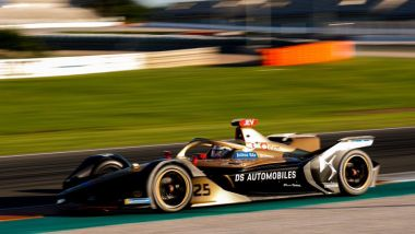 Formula E 2019-2020, test Valencia Day-1 mattina: Jean-Eric Vergne (Ds Techeetah)