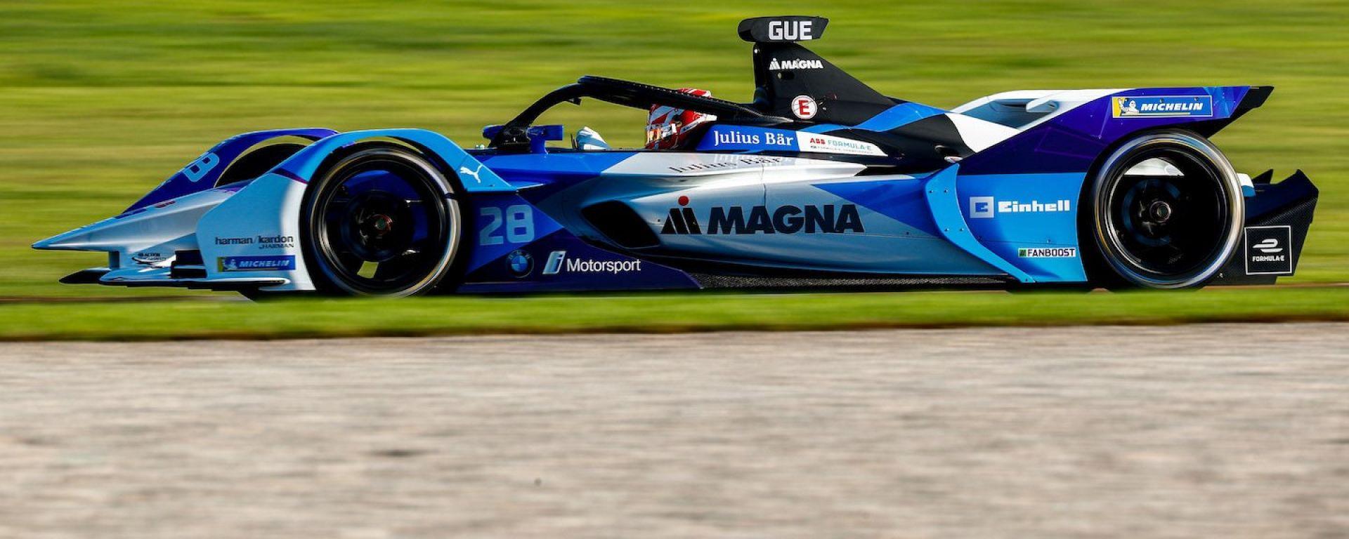 Formula E 2019-2020, test Valencia Day-1 mattina: Maximilian Gunther (Bmw i Andretti Motorsport)