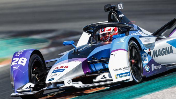 Formula E 2019-2020, test Valencia Day-1 pomeriggio: Maximilian Gunther (Bmw i Andretti Motorsport)