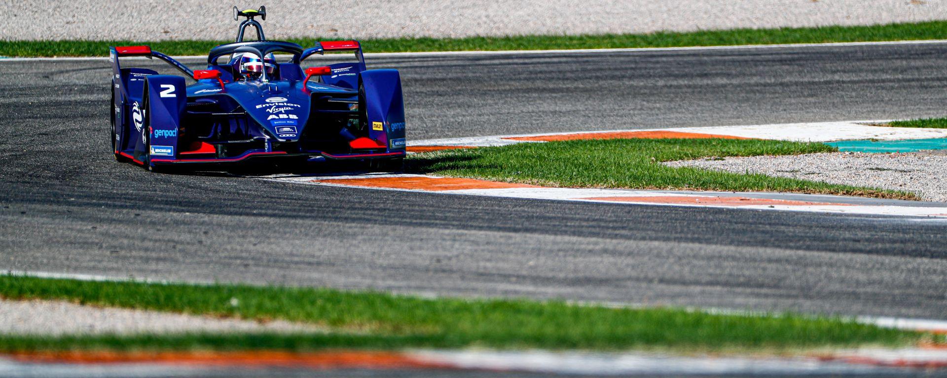 Formula E 2019-2020, test Valencia Day-1 pomeriggio: Sam Bird (Envision Virgin Racing)