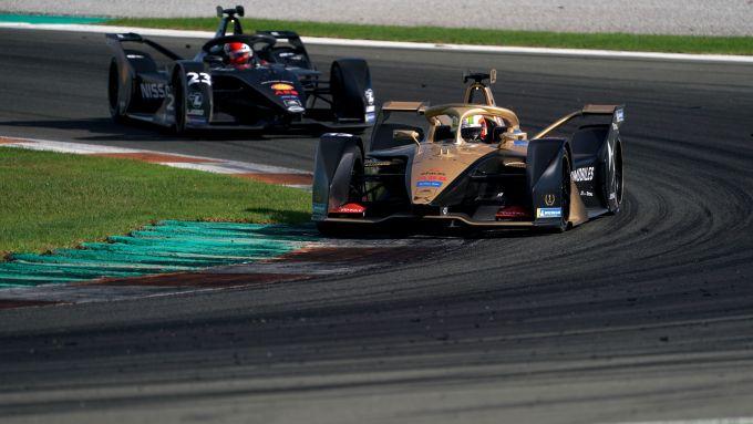 Formula E 2019-2020, test Valencia Day-2 pomeriggio: Antonio Felix Da Costa (Ds Techeetah)