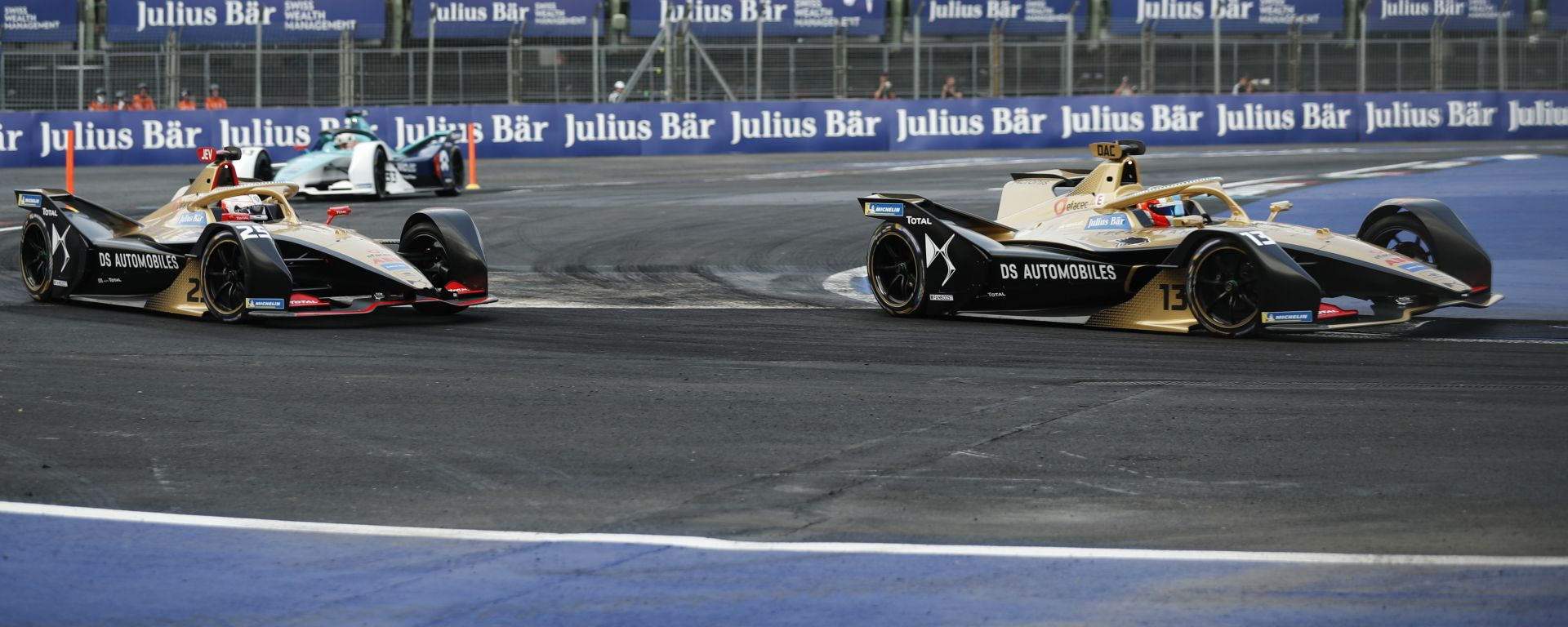 Formula E 2020, ePrix Città del Messico: i due piloti DS Techeetah, Vergne e Da Costa