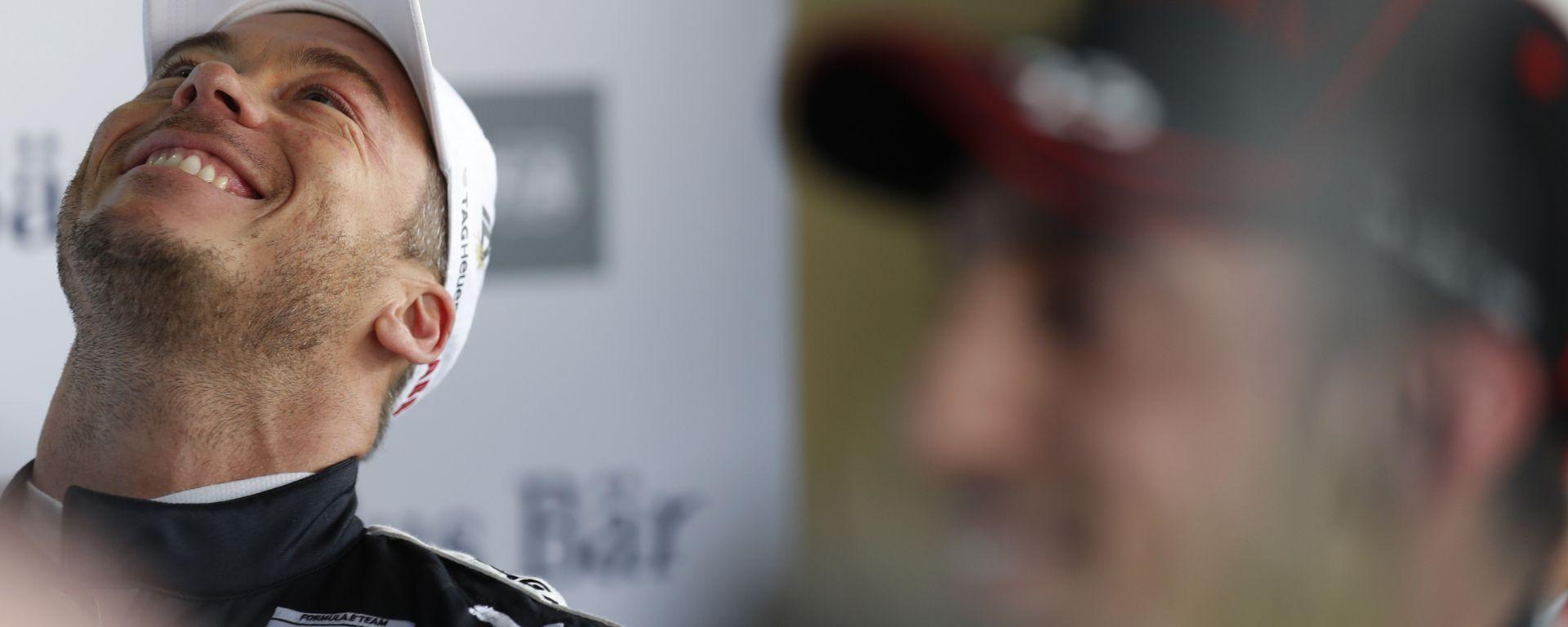Formula E 2020, ePrix Città del Messico: l'esultanza di André Lotterer (Porsche)