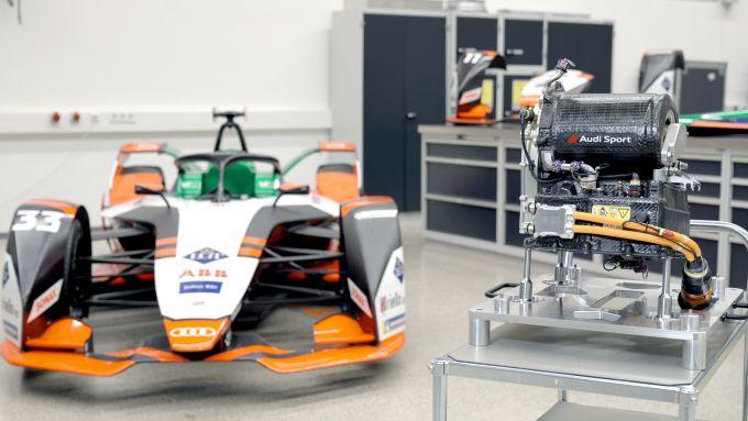 Formula E 2021, la nuova Audi e-tron FE07 | La monoposto e il nuovo powertrain MGU05