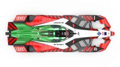 Formula E 2021, la nuova Audi e-tron FE07 | Vista dall'alto