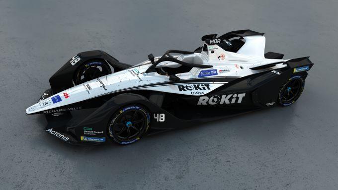 Formula E 2021: la nuova livrea Venturi Racing