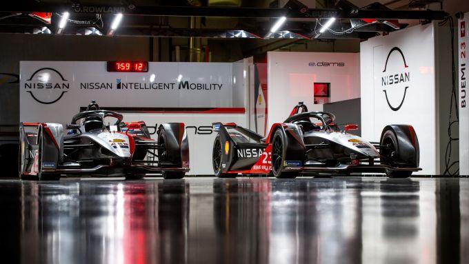 Formula E 2021: le vetture Nissan