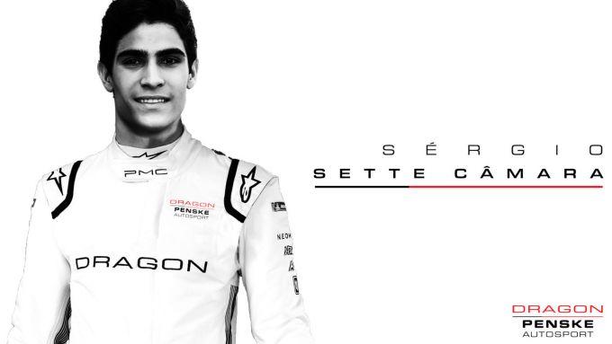 Formula E 2021, Sergio Sette Camara confermato da Dragon Racing