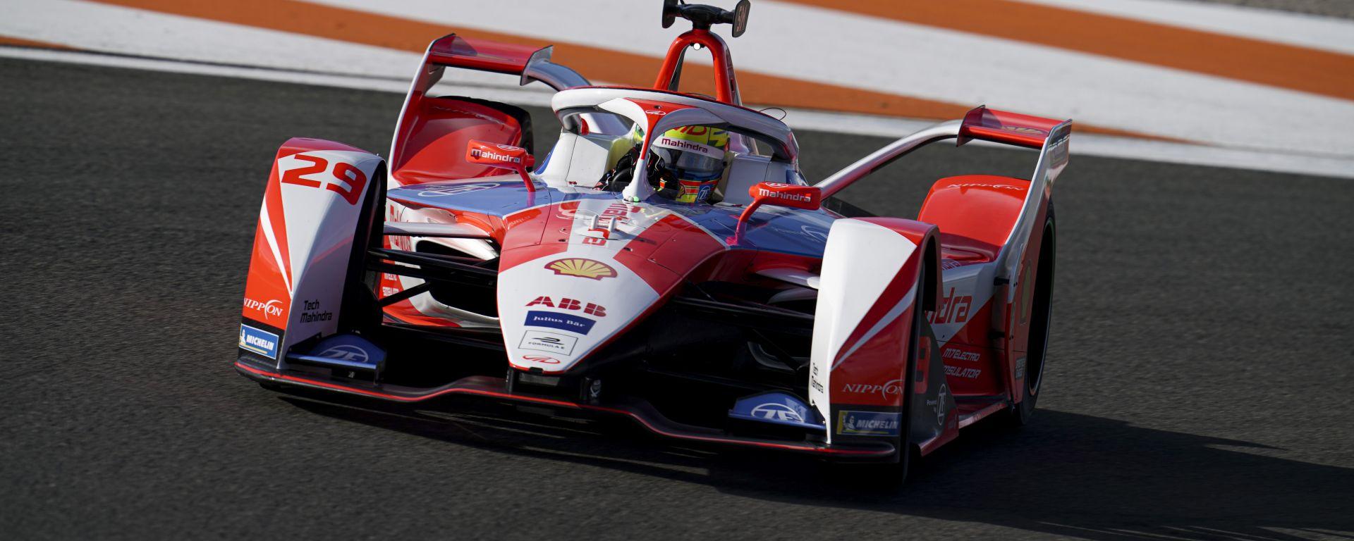 Formula E 2021, Test Valencia: Alexander Sims (Mahindra Racing)