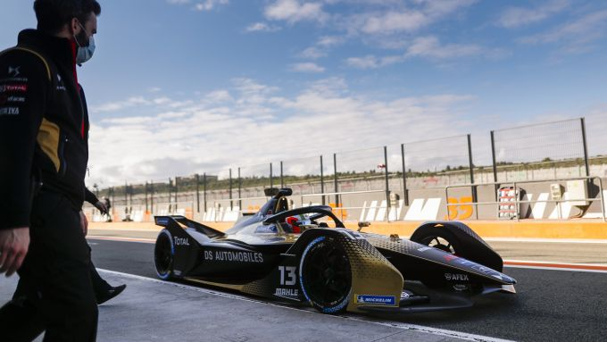 Formula E 2021, Test Valencia: Antonio Felix Da Costa (DS Techeetah)