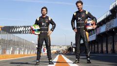 Formula E 2021 test Valencia: Antonio Felix Da Costa e Jean-Eric Vergne (DS Techeetah)
