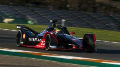Formula E 2021, test Valencia: la Nissan e.Dams di Oliver Rowland e Sebastien Buemi