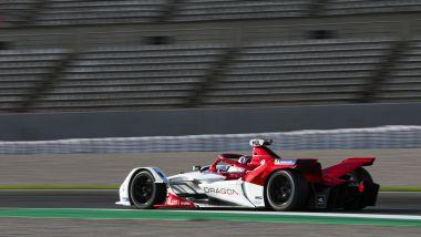 Formula E 2021, Test Valencia: la nuova Dragon Penske Autosport di Nico Muller