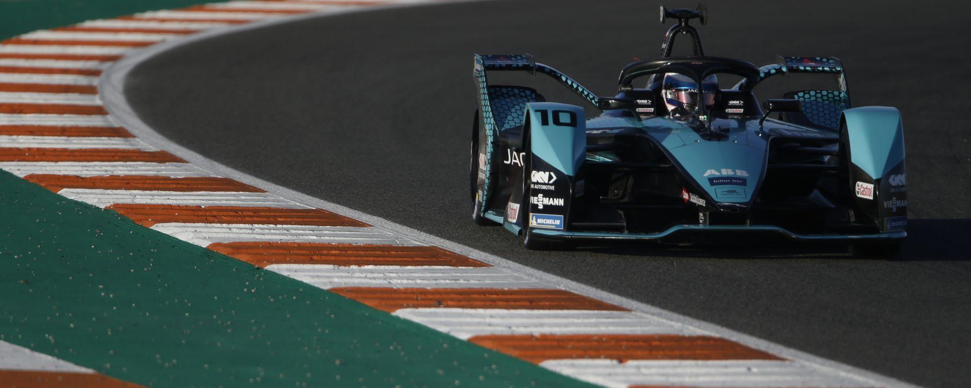 Formula E 2021, Test Valencia: la nuova Jaguar Racing di Sam Bird