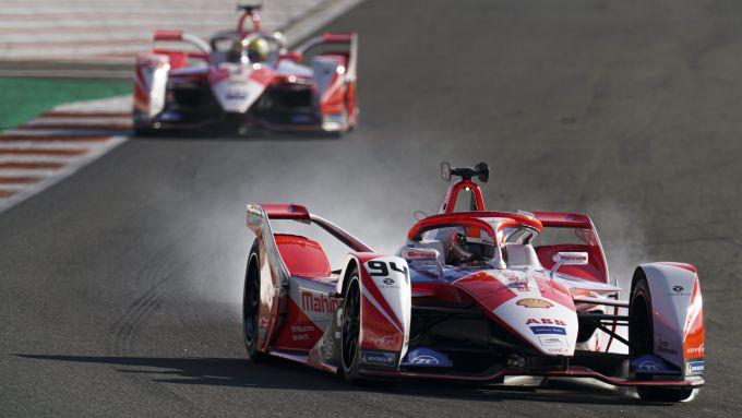 Formula E 2021, Test Valencia: le Mahindra di Alexander Sims e Alexander Lynn