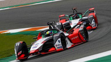 Formula E 2021, Test Valencia: Lucas Di Grassi e René Rast (Audi Sport Abt Schaeffler)