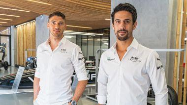 Formula E 2022: Edoardo Mortara e Lucas Di Grassi (Venturi Racing)
