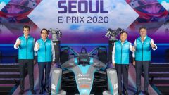 Formula E, Alejandro Agag e i promotori dell'ePrix di Seul