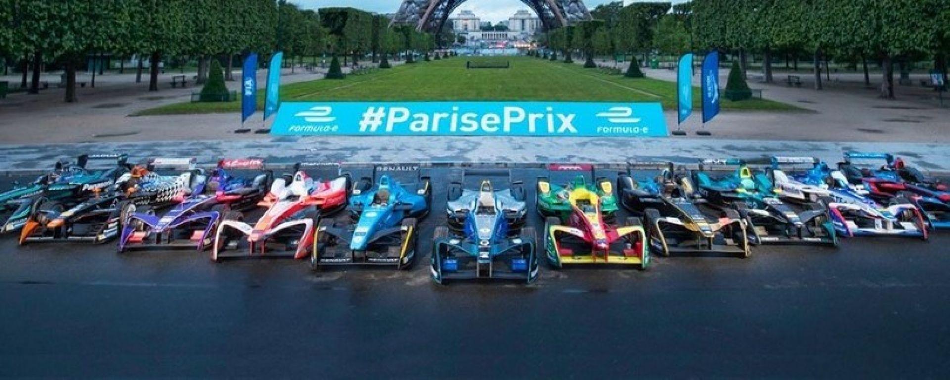 Formula E E-Prix Parigi Francia, tutte le info: orari, risultati, qualifica, gara